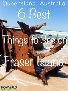 6 Best Things to See on Fraser Island, Queensland, Australia {Big World Small Pockets} Australia Tourism, Queensland Australia, Australia Trip, Fraser Island Australia, Australia Honeymoon, Coast Australia, South Australia, Western Australia, Voyage Canada