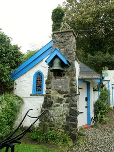 St. Gobban's, the smallest church in Ireland.