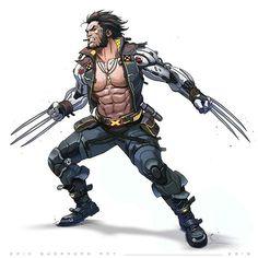 Marvel Comics Art, Marvel Comic Universe, Comics Universe, Marvel Heroes, Ms Marvel, Marvel Comic Character, Marvel Characters, Wolverine Art, Arte Cyberpunk