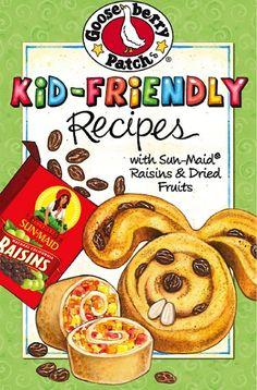 FREE e-Cookbook: Gooseberry Patch Kid Friendly Sun-Maid Recipes! recipe of cooking guide Cooking Photos, Cooking Tips, Cooking Steak, Kids Cookbook, Fixate Cookbook, Raisin Recipes, Crock Pot Freezer, Gooseberry Patch, Patch Kids