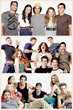 Season 1, 3, and 5 Teen Wolf Comic Con Transformation