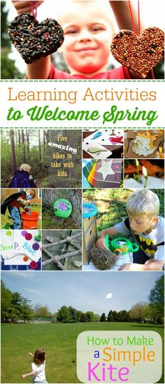 Learning Activities for Spring - Lots of great ideas here! My kids will LOVE these!!