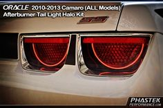 Camaro Afterburner Tail Lights Kit for years 2010 2011 2012 2013 - All Models