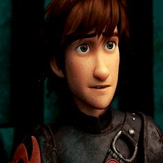 His face absolutely kills me here. Hiccup spent so many years feeling like he didn't belong, his dad didn't understand him, he literally had nobody. Now he and his dad have a relationship and things have been going really well for Hiccup, and then, suddenly, he finds his mother. And Stoick and Valka reunite and it's beautiful, and he realizes that he doesn't just have his mother back - he knows that the broken pieces of his family have finally been put back together, and he's whole...then it…