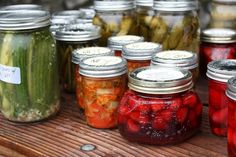 Pickle party!! Brilliant!! Bring 3 jars of some sort of pickle (could do with any canned food) and a potluck dish to share. I want to do this!!