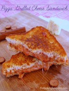 """Back to School"" lunch week begins with Gluten Free Pizza Grilled Cheese Sandwich 