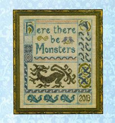 Antique Celtic Sampler - Cross Stitch Pattern - Elizabeth's Designs