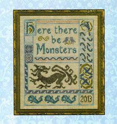 Antique Celtic Sampler - Cross Stitch Pattern - Elizabeth's Designs