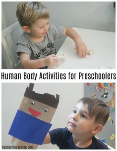 House of Burke: Human Body Activities for Preschoolers Mother Goose Time, Human Body Activities, Paper Bag Puppets, Toddler Books, Literacy Activities, Shape Design, Nice Body, Small Groups, Homeschool