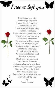 I never left you