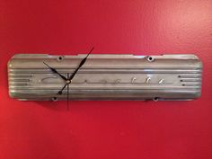Hand crafted hot rod wall clock using by HotRodArtomotive on Etsy