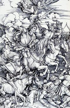 The Four Horsemen of the Apocalypse- Albrecht Dürer