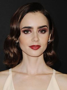Everyone In Hollywood Is Wearing This Vampy Makeup Look Perfect for a Night Out