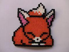 perler bead fox. $6.00, via Etsy.