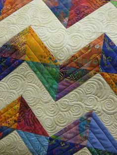 How To Machine Quilt Negative Space: A Craftsy Quilting Class