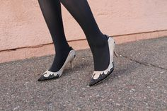 Tights and heels