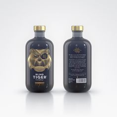 Blind Tiger Gin — The Dieline - Branding & Packaging