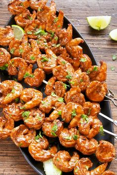 Speedy Shrimp Recipes for Stress-Free Weekday Meals 77 Shrimp Recipes That'll Make Meatless Mondays Your Favorite Day Of The Week Shrimp Recipes For Dinner, Shrimp Recipes Easy, Easy Dinner Recipes, Seafood Recipes, Cooking Recipes, Healthy Recipes, Dinner Ideas, Kebab Recipes, Seafood Dinner