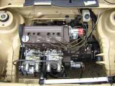 VW Volkswagen MK1 shaved engine bay carbs