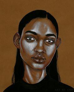 Ojo Agi Illustrations, Black Women Art