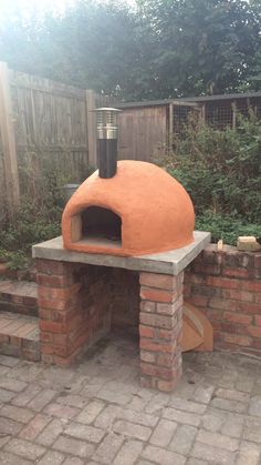 Here is my attempt at a pizza oven #handmade #crafts #HowTo #DIY