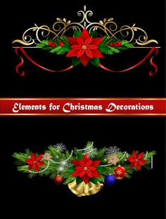 Beautiful christmas decorations design elements vector 16 - https://www.welovesolo.com/beautiful-christmas-decorations-design-elements-vector-16/?utm_source=PN&utm_medium=welovesolo59%40gmail.com&utm_campaign=SNAP%2Bfrom%2BWeLoveSoLo