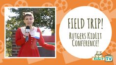 KidLit TV was invited to the 45th Annual Rutgers University Council on Children's Literature One-on-One Plus Conference! Be sure to watch our interviews!