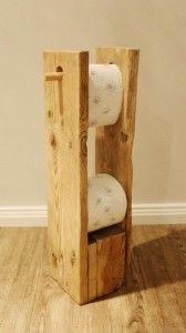 Toilettenpapierhalter-Toilettenpapierständer DIY - 2