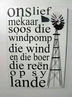 X Witty Quotes Humor, Windmill Wall Decor, Afrikaanse Quotes, I Love You Quotes, Inspiration Wall, Viera, Hobbies And Crafts, Metal Wall Art, Word Art
