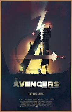 Avengers movie posters on Behance
