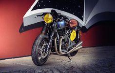 Honda CB750 Cafe Racer by It roCkS!bikes - Photos by Rui Bandeira #motorcycles #caferacer #motos | caferacerpasion.com