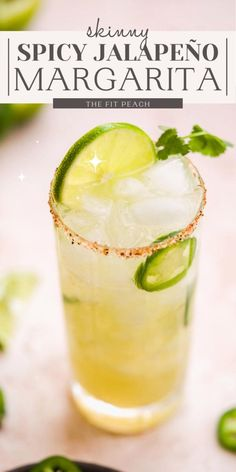 Spicy Drinks, Healthy Cocktails, Summer Cocktails, Cocktail Drinks, Low Calorie Tequila Drinks, Ginger Ale Cocktail, Green Cocktails, Cucumber Cocktail, Lime Drinks