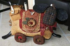 Atelier Sweet Country: I miei cartamodelli . . . sheep