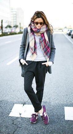 awesome Trend Fashion: Jogger Pants Outfit