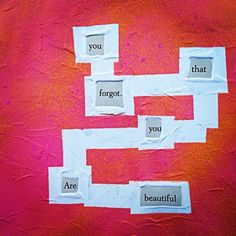 Friendly Reminder: Make Blackout Poetry, Blackout Poetry, Poetry