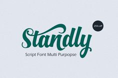 Standly 25% off by Groens on Creative Market