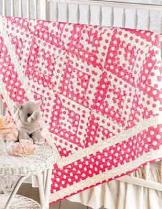 Lap & Throw Quilts - Annie's Lap and Throw Quilts contains 12 smaller projects that are perfect for gifts, charity, baby, or throws. Styles range from traditional to modern, in skill levels from beginner to advanced.   Projects include Spring Baskets (showcase your pretty florals), Triangle Fever (triangles without the math), Modern Comfort (10' squares make this an easy project), Pretty in Pink (a quick and easy project), Red Delicious (try paper piecing!), Steppingstones (take the…
