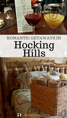 Hocking Hills Romantic Getaway for Two – Travel Inspired Living Romantic Things To Do, Romantic Places, Romantic Vacations, Romantic Getaways, Romantic Travel, Romantic Cabin Getaway, Hocking Hills Cabins, Anniversary Getaways, Weekend Trips