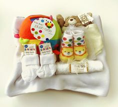 £26.99 Funky New Arrivals Hamper http://www.baby-blessed.co.uk/baby-hampers-91.html