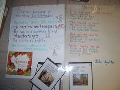 Place pictures next to stanzas of poetry to assist in visualization.  Reading Is Thinking: Visualizing