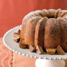 Peanut-Butter Pound Cake Recipe - Taste of the South Magazine