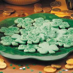 Shamrock Cookies Recipe | Taste of Home Recipes