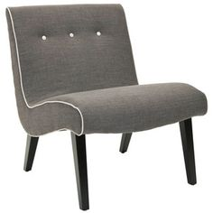 Mandell Chair Charcoal now featured on Fab.