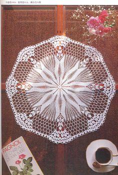 Crochet Doily pattern PDF0013 by LavenderCrochet on Etsy, $2.00