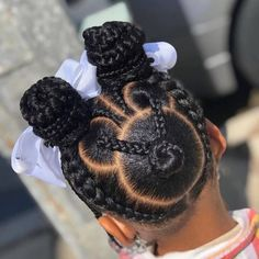 Gorgeous Braids for kids Little Girl Braid Hairstyles, Black Kids Hairstyles, Little Girl Braids, Baby Girl Hairstyles, Black Girl Braids, Kids Braided Hairstyles, Back To School Hairstyles, Braids For Kids, My Hairstyle
