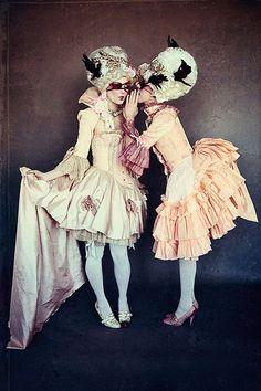 'True Cinderella' by Emily Gualdoni for Glassbook Magazine Fall 2013 French Rococo, Rococo Style, Marie Antoinette Costume, Sublime Creature, Charles Perrault, Rococo Fashion, Masquerade Ball, Costume Design, Burlesque