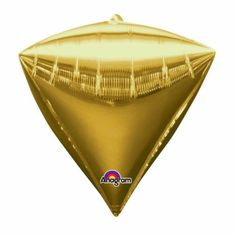 Folieballon Diamant Goud