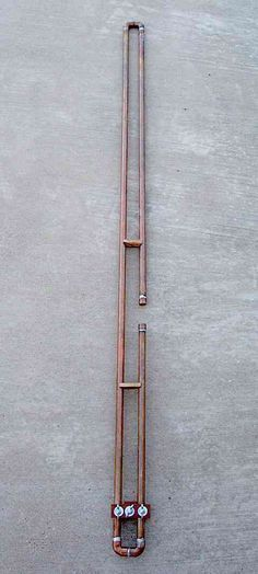 2 Meter Slim Jim Copper Tubing Antenna by I build these all the time and I use one now and then