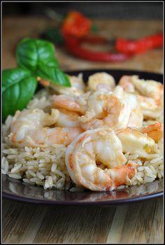 Honey Lime Shrimp Recipe ~ Lots of flavor in this simple shrimp recipe