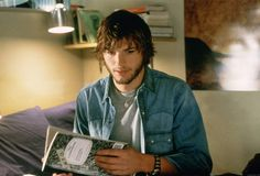 The Butterfly Effect.   The only movie that Ashton Kutcher doesn't act like an idiot.
